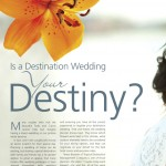 Is a Destination Wedding Your Destiny?