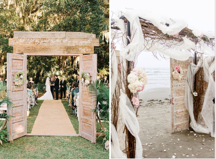 Beach Wedding Arch Ideas Turks And Caicos