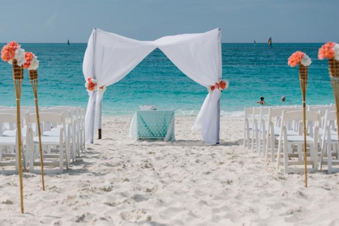Wedding At Ocean Club West Turks Caicos By Tropical Dmc