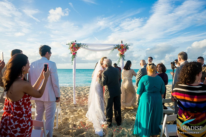 Wedding At The Amazing Grace Villa Turks And Caicos Tropical Dmc