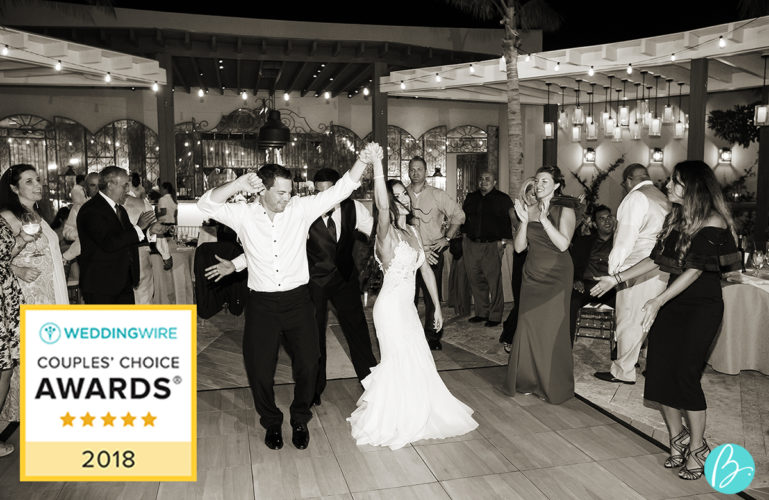 Tropical DMC Receives WeddingWire Couples' Choice Award