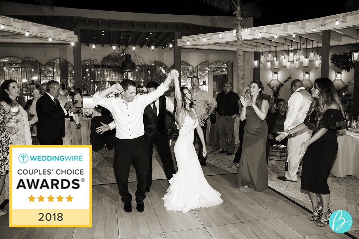 Tropical DMC Receives Couples\' Choice Award from WeddingWire