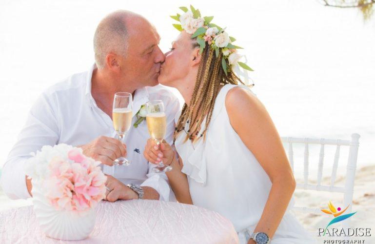 Surprise Wedding on Taylor Bay Beach | Turks & Caicos