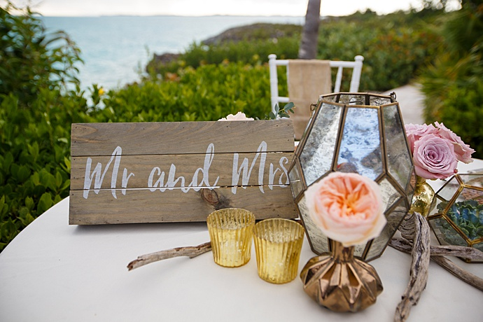 4776f1caa9 This dreamy bohemian Turks & Caicos wedding had it all: A uniquely classy  wedding arch adorned in monstera leaves, gorgeous pastel florals in  miniature ...